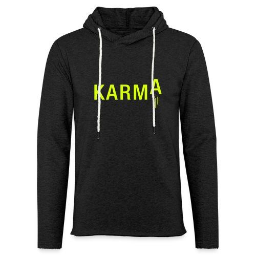 Karma / Unisex - Leichtes Kapuzensweatshirt Unisex
