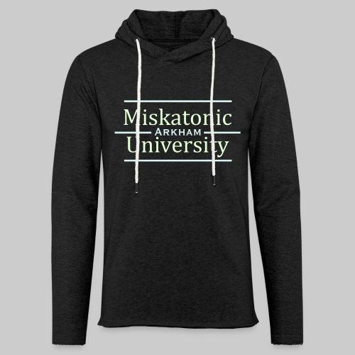 Miskatonic University - Leichtes Kapuzensweatshirt Unisex
