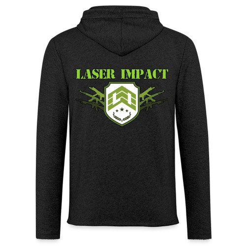 Laser Impact Store - Sweat-shirt à capuche léger unisexe
