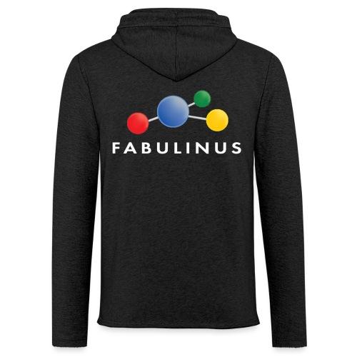 Fabulinus logo dubbelzijdig - Lichte hoodie unisex