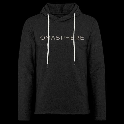 OMASPHERE-logo-transparen - Sweat-shirt à capuche léger unisexe