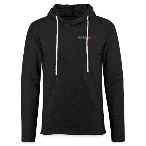 logo 2012 ohne claim - Leichtes Kapuzensweatshirt Unisex