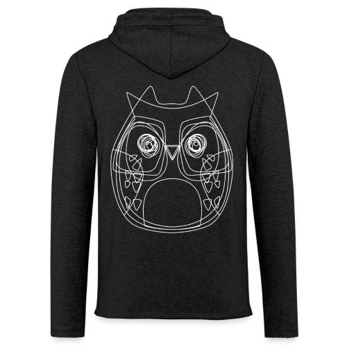 Owls - Leichtes Kapuzensweatshirt Unisex