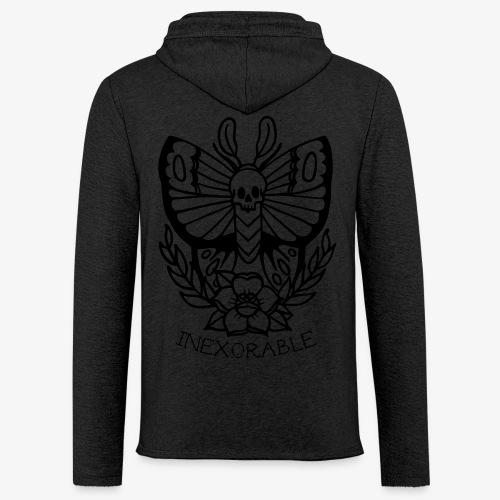 Traditional Tattoo Moth - Light Unisex Sweatshirt Hoodie