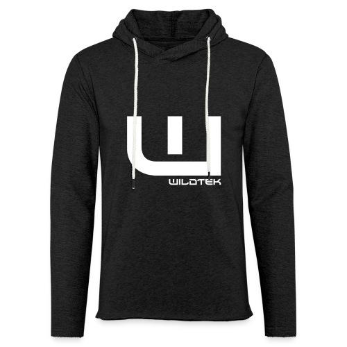 Wildtek Logo White - Light Unisex Sweatshirt Hoodie