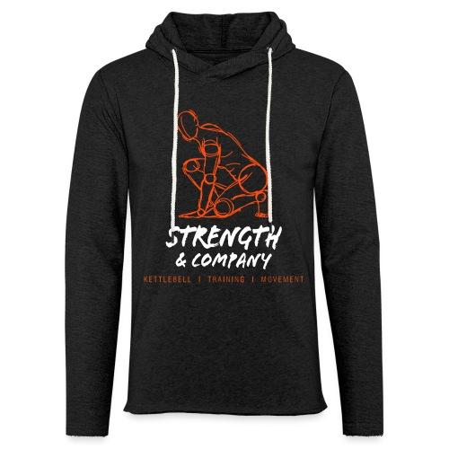 STRENGTH Company logo - Lichte hoodie unisex