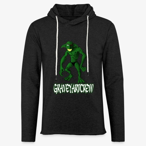 GGlogo1 png - Let sweatshirt med hætte, unisex