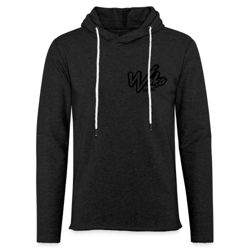 Waka hat logo reverse 80x - Light Unisex Sweatshirt Hoodie