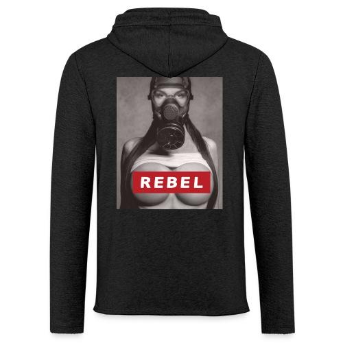 postapocalyptic rebel - Leichtes Kapuzensweatshirt Unisex