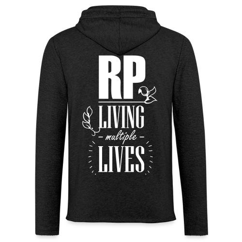 Role play - Living multiple lives - Let sweatshirt med hætte, unisex