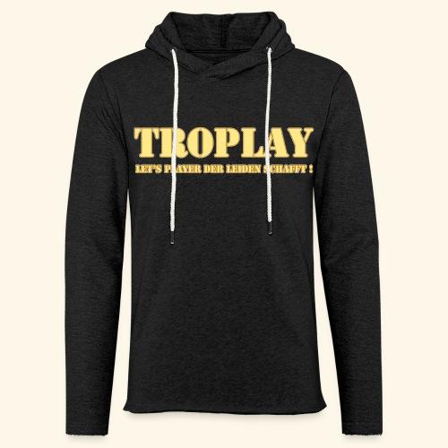 TRoplay Schrift png - Leichtes Kapuzensweatshirt Unisex