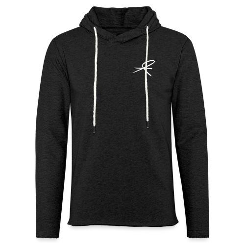 MJJK_logo_hvit_vektor - Lett unisex hette-sweatshirt