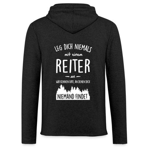 Vorschau: Reiter - Leichtes Kapuzensweatshirt Unisex
