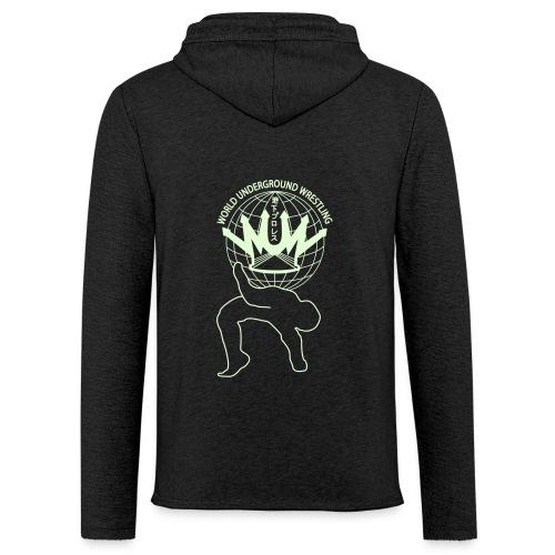 wuw suplex logo - Leichtes Kapuzensweatshirt Unisex