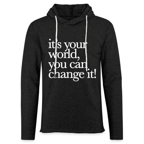 (yourworld) - Leichtes Kapuzensweatshirt Unisex