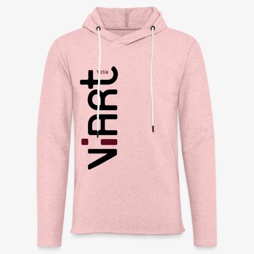 viart logo vect 2coul - Leichtes Kapuzensweatshirt Unisex