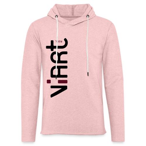 ViArt asbl Logo - Leichtes Kapuzensweatshirt Unisex