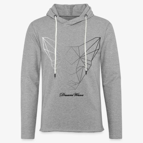 DreamWave Fox/Renard - Sweat-shirt à capuche léger unisexe