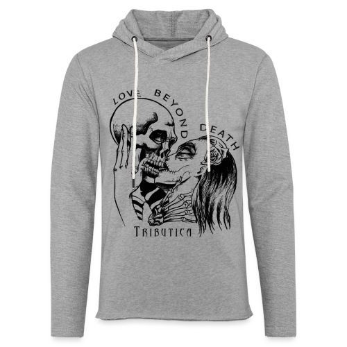 Love beyond Death Colourful - Leichtes Kapuzensweatshirt Unisex