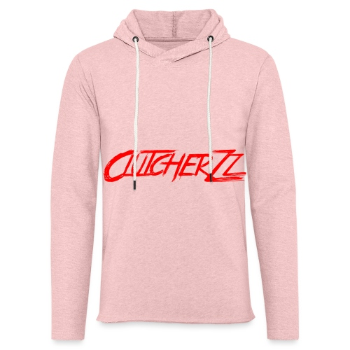 Spreadshirt written logo - Sweat-shirt à capuche léger unisexe