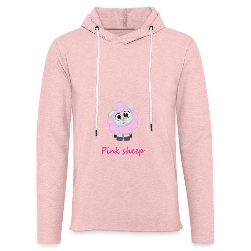 pink sheep - Leichtes Kapuzensweatshirt Unisex