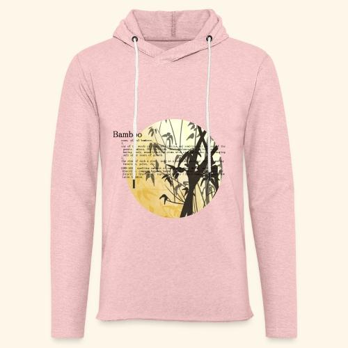 Bamboo - Lätt luvtröja unisex