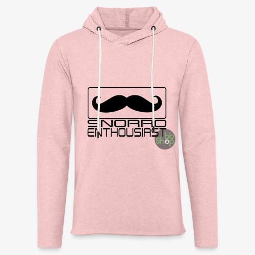 Snorro enthusiastic (black) - Light Unisex Sweatshirt Hoodie
