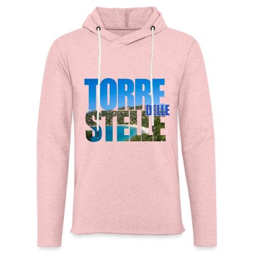 TorreTshirt - Felpa con cappuccio leggera unisex
