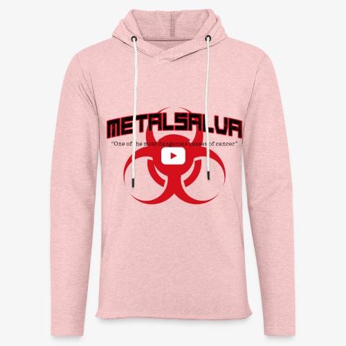METALSALVA Cancer #1 - Felpa con cappuccio leggera unisex
