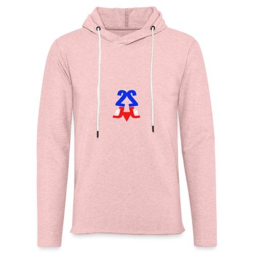 2j_sport - Let sweatshirt med hætte, unisex