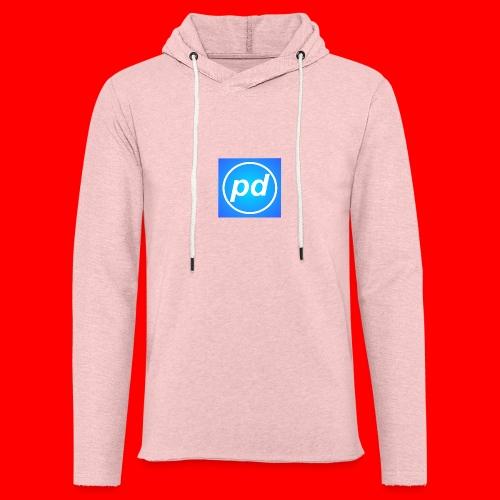 pd Blue V2 - Let sweatshirt med hætte, unisex