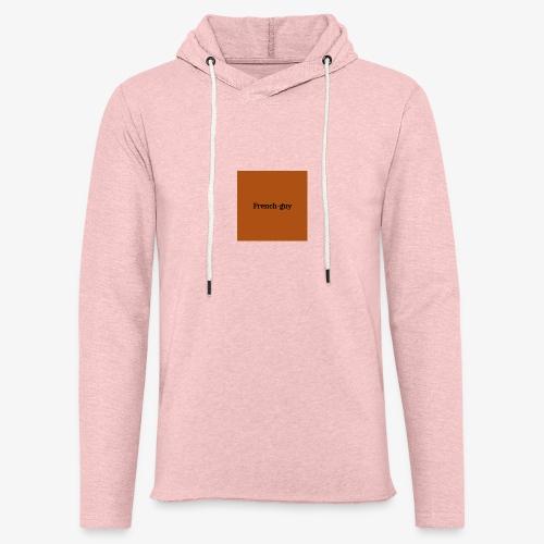 French guy - Sweat-shirt à capuche léger unisexe