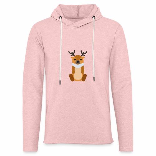 Elg - Let sweatshirt med hætte, unisex