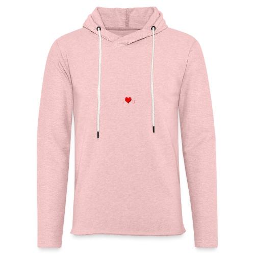 love - Lichte hoodie unisex