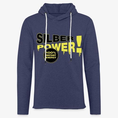 SilberPower! - Let sweatshirt med hætte, unisex