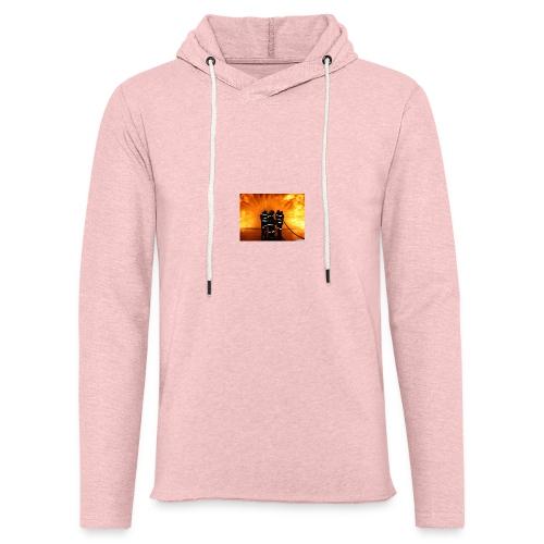 pompier vs flammes - Sweat-shirt à capuche léger unisexe