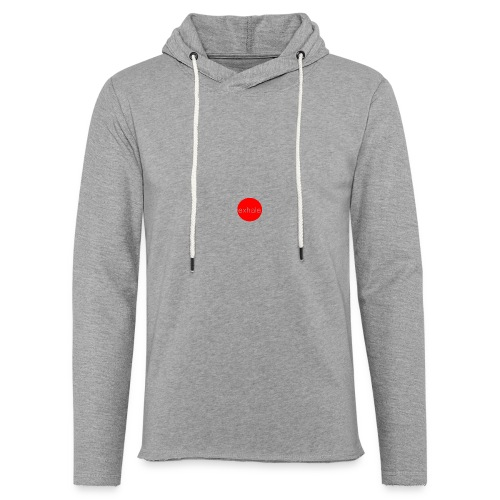 exhale - Light Unisex Sweatshirt Hoodie