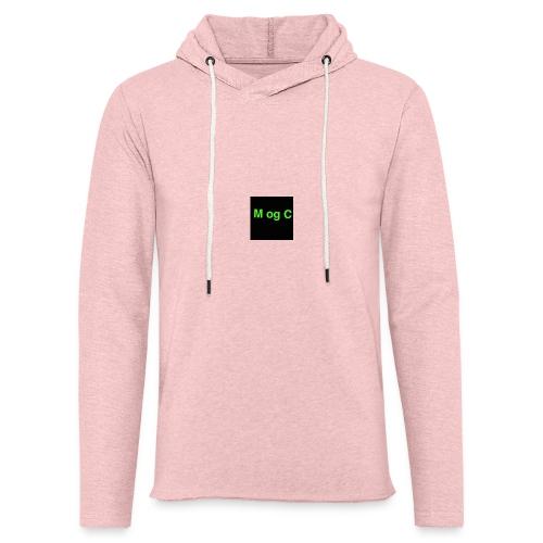 mogc - Let sweatshirt med hætte, unisex