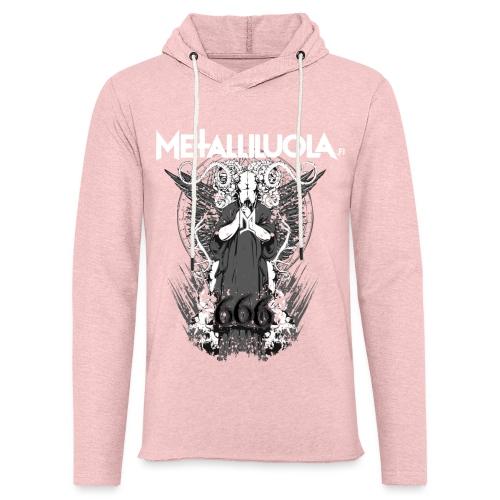 Metalliluola logo ja Demoniac 666 - Kevyt unisex-huppari