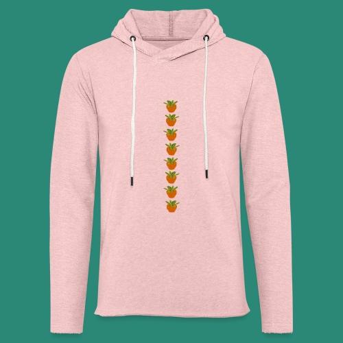 Erdbeerparade für dunkle T-Shirts - Leichtes Kapuzensweatshirt Unisex