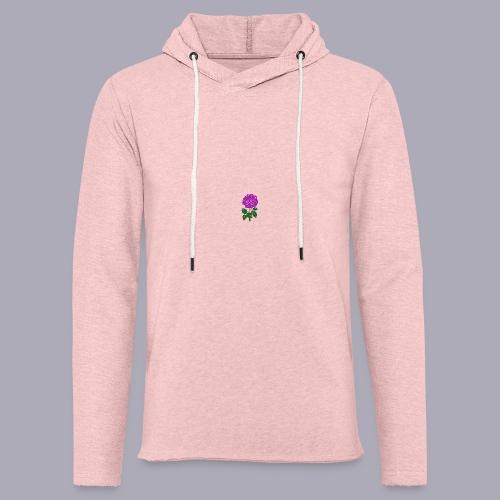 Landryn Design - Pink rose - Light Unisex Sweatshirt Hoodie