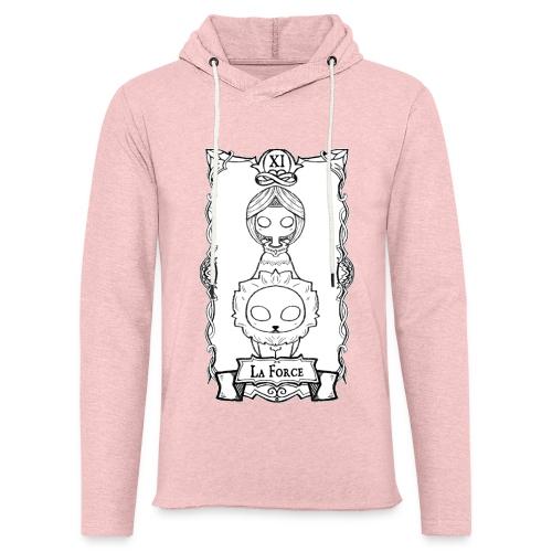 Tarot Card: La Force - Let sweatshirt med hætte, unisex