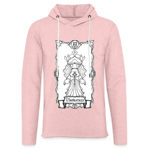 Tarot Card: L'Imperatrice - Let sweatshirt med hætte, unisex