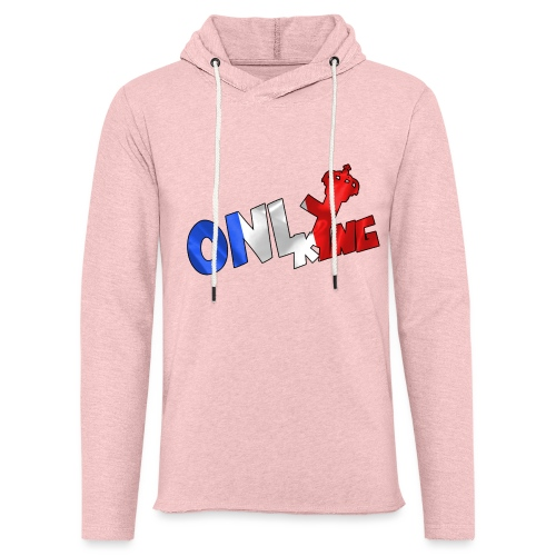 Logo ONLY KING edition francaise - Sweat-shirt à capuche léger unisexe