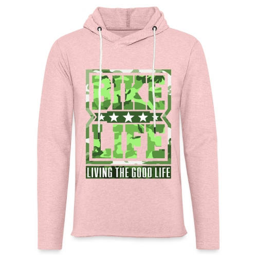 Bikelife Green Camo - Light Unisex Sweatshirt Hoodie
