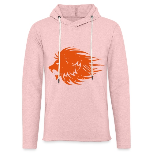MWB Print Lion Orange - Light Unisex Sweatshirt Hoodie