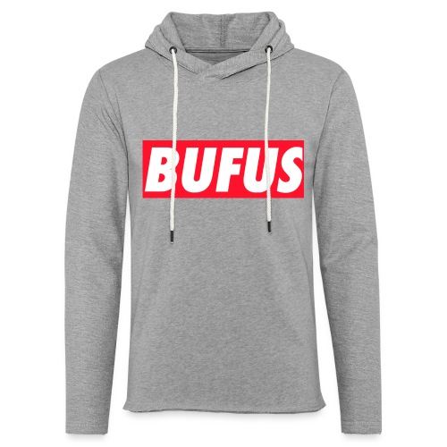BUFUS - Felpa con cappuccio leggera unisex