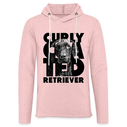 Curly Coated Retriever II - Kevyt unisex-huppari