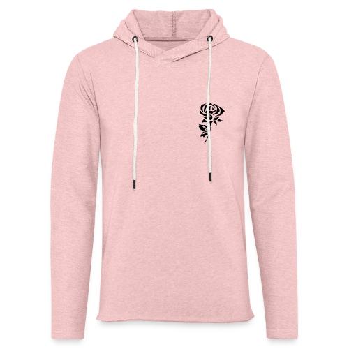 Black Rose - Light Unisex Sweatshirt Hoodie