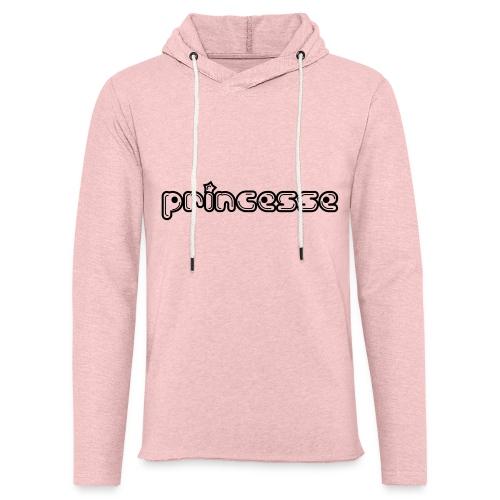 Princesse - Sweat-shirt à capuche léger unisexe